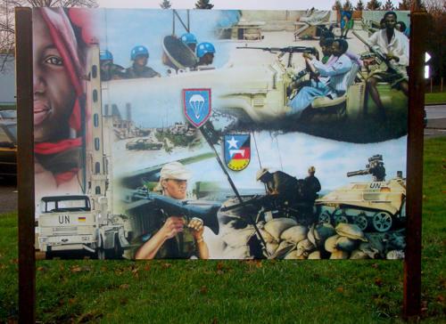 Alu-dibond Airbrush Bundeswehr