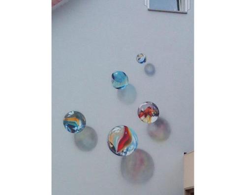 Fassadengestaltung Airbrush