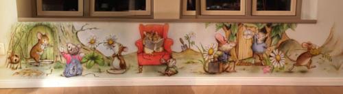 mice-Wandbild