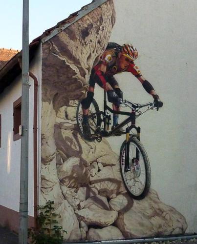 Airbrush Wandmalerei Fassadengestaltung