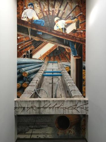 Staroe GmbH - Wandmalerei für Stahlhandel
