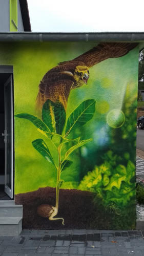 Wandmalerei Airbrush / Dose